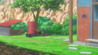 井戸とドラム缶風呂
